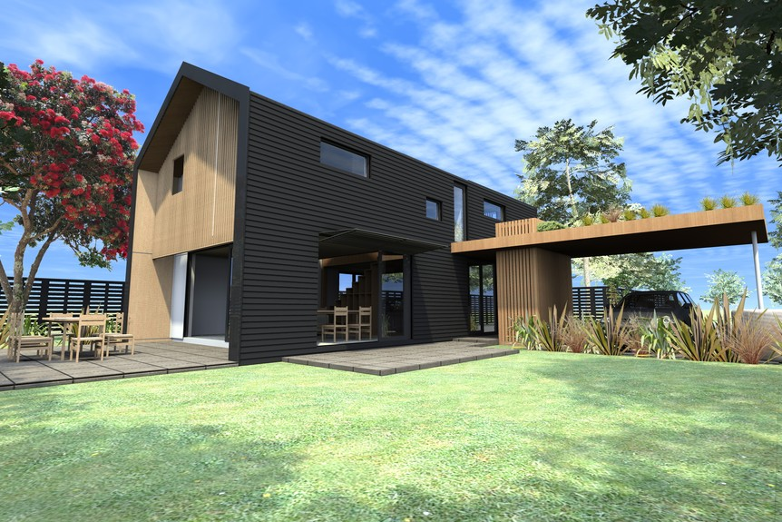Eco Homes Design Gallery Ehouse New Zealand