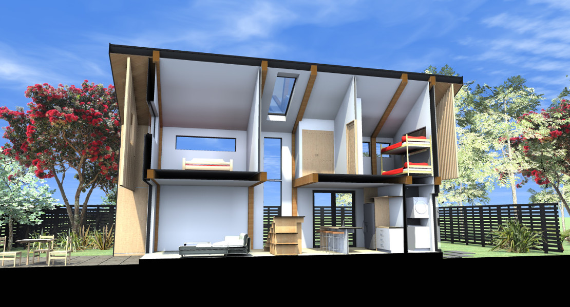 Ehouse new zealand ehouse new zealand for Eco beach house designs